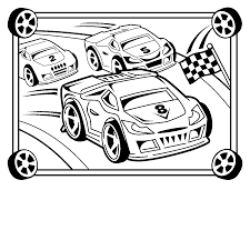 Small Picture Race Car Coloring Pages anfukco