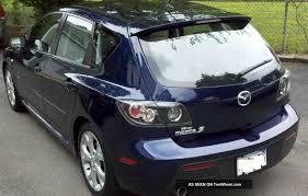 2008 Mazda 3 S Sport Hatchback 4 - Door 2. 3l 6 Disc In Dash Cd