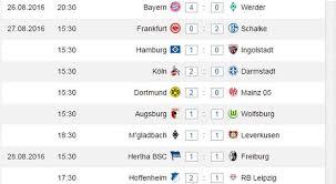 Seasons run from august to may. Bundesliga Tipps Zum 1 Spieltag