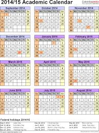 How To Make A School Calendar Academic Calendar Cds Department Of Education