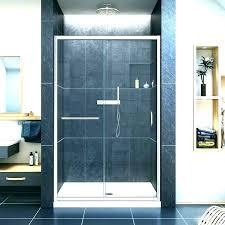 dreamline french corner shower shower corner shower base installation doors enigma pan showers medium size of