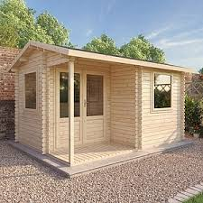 outside office shed. Waltons 4m X 3m Home Office Executive Log Cabin Outside Shed