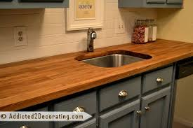 my beautiful mineral oil finished ikea countertops