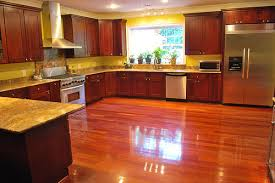 cherry hardwood floor. Brazilian Cherry-Hardwood Floors -Galeano \u0026 Galeano Contractors Inc Traditional-kitchen Cherry Hardwood Floor
