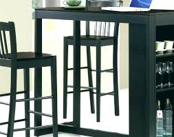 small round pub table bar with shelves