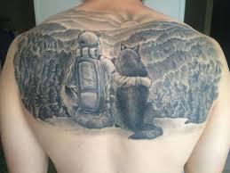 Pánské Tetování Na Zádech Výhody Nevýhody A Možnosti Skicování