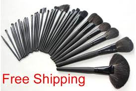 whole new 32 pieces professional makeup make up brush brushes set the mac