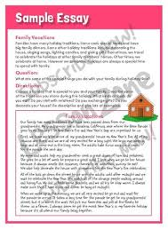 example of narrative essay about christmas vacation docoments essays on christmas holidays