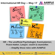 International HR Day... Not Everything... - Aample Pvt. Ltd.