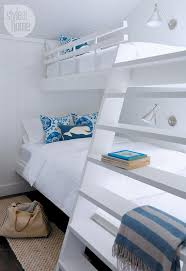 beach style bedroom source bedroom suite. Cottage Bedroom: A Bedroom Features Two Twin-over-double Bunk Beds To Beach Style Source Suite S