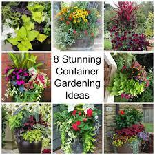 Small Picture 8 Stunning Container Gardening Ideas garden decor DIy home