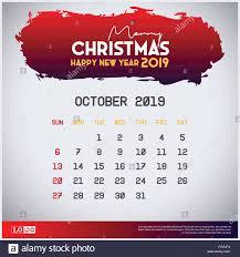 2019 October Calendar 2019 October Calendar Template Merry Christmas And Happy New Year