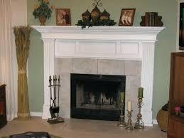 fireplace art log ways pine ledge lamps trim art ready fireplace mantel ideas cool what put