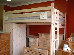 high double bed.  Double Double Loft Bed High Sleeper 4ft Or 6in 122137cm Made To Size You  Want  EBay Throughout Bed