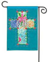 garden house flags. Magnet Works Garden Flag - Faith Cross Decorative At House GardenHouseFlags Flags