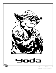 Small Picture Star Wars Coloring Pages star wars coloring yoda Cartoon Jr