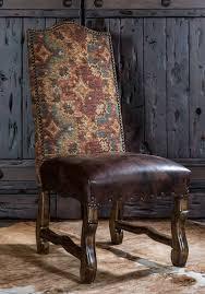 custom spanish style furniture. Alamo Dining Chair, Spanish Style Leather Fabric Chair Custom Furniture A