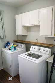Laundry room makeovers charming small Cleaning Theweatheredfoxlaundryroommakeover15 The Runners Soul This 300 Laundry Room Makeover Will Make Your Jaw Drop The