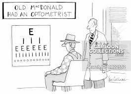 Eye Charts Used By Doctors Eye Chart Cartoons And Comics Funny Pictures From Cartoonstock