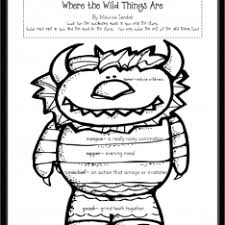 Small Picture Where The Wild Things Are Monsters Coloring Pages