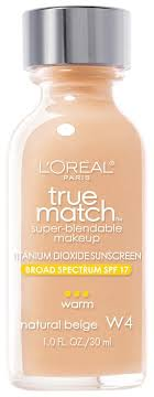 true match super blendable makeup matches skintone and texture