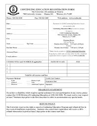 Enrolment Form Template Enrollment Form Templates Cityesporaco 5