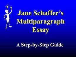 Shaffer Essay