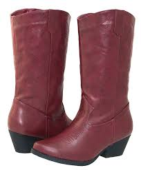 com shoes 18 womens faux leather western cowboy boots w traditional embroidery boots