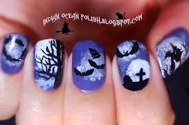 Indian Ocean Polish: A Few Halloween Nail Art Ideas for 2013