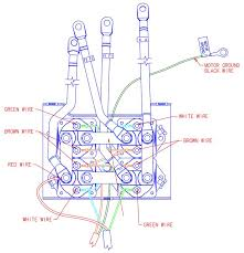 warn winch wiring schematic atv wirdig