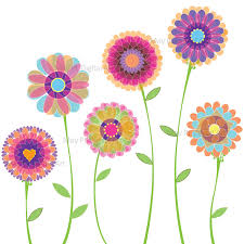 16 spring flowers graphics images