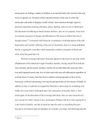 final essay on nietzsche final draft  9 acting