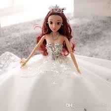 barbie doll. Barbie Doll Wedding Princess 3d Real Eye Bride And Baby Doll\u0027S Toy 2017 New Lifelike Dolls Clothes For From Zqmichelle, $32.67| Dhgate.Com
