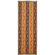 13526 kilim rug iran persia 4 6 x 1 8 ft 141 x 54 cm