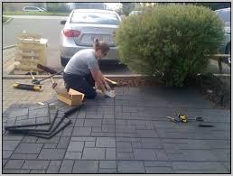 rubber patio pavers with plus rubber pavers with plus rubber flooring with plus outdoor flooring installation of rubber flooring patio abcdeledition com
