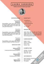 Template Cv 54 Best Go Sumo Cv Templates Resume Curriculum Vitae Design