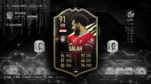 JUST WOW 🤯 IF (91) SALAH PLAYER REVIEW | FIFA 21 ULTIMATE TEAM - YouTube