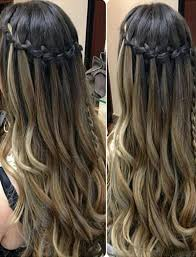 Hairstyle Waterfall 100 chic waterfall braid hairstyles how to step by step images 6567 by stevesalt.us