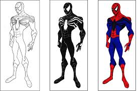 Small Picture spiderman color pages printables Archives Best Coloring Page