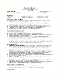Part Time Job Resume Template Saneme