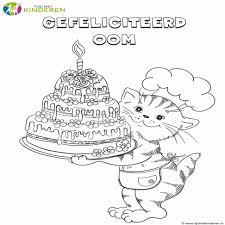 Niewu Verjaardag Kleurplaat Opa Kleurplaat 2019