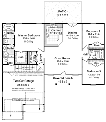 house plan 59002 traditional style