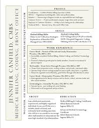 Medical Billing And Coding Resume Sample Interesting Resume Idea Not sure I like the name on the side 19