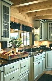 cabin kitchens with white cabinets log kitchen cabinet best ideas on siding intended for rustic