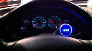 Autometer Gauge Light Auto Meter Cobalt Rpm Shift Light Gauge Youtube