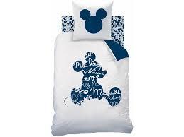 disney mickey mouse style duvet cover single 140 x 200 cm white