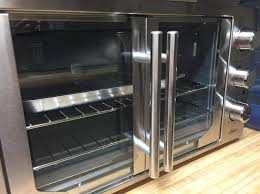 oster digital french door oven with convection metallic charcoal com