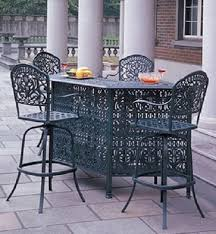 cast aluminum patio chairs. Tuscany By Hanamint Luxury Cast Aluminum Patio Furniture 4-Person Bar Height Set Chairs