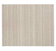 parker synthetic indoor outdoor rug bleached