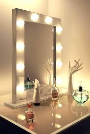 I Vanity Mirror With Lights Makeup Lit Lighted  Bathrooms Design Large